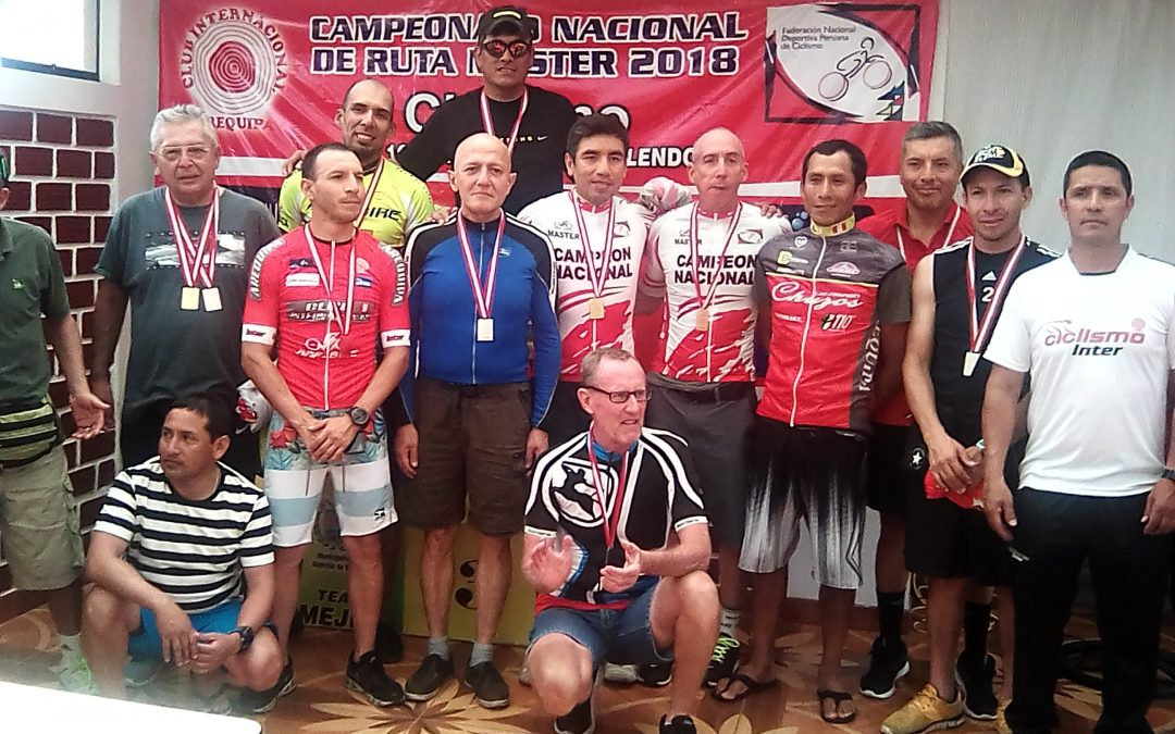 MASTER CYCLISTS DANS LE PROGRAMME AREQUIPA FINISHED 2018
