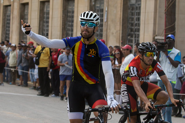 LEANDRO MARCOS RENDERED CÁRDENAS IN THE EIGHTH STAGE OF CLASSIC CYCLING