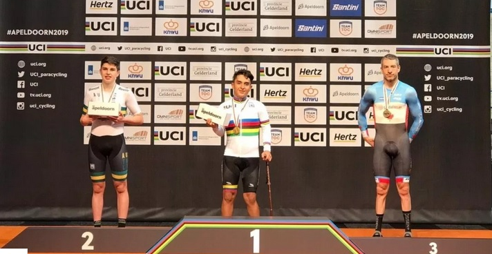 GOLD AND WORLD RECORD FOR ALEJANDRO PEREA IN THE PROOF OF THE KILOMETER