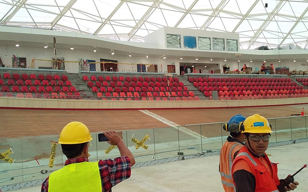 LIMA 2019. ADVANCES THE CONSTRUCTION OF THE PAN AMERICAN VELODROME