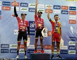 TOUR OF URUGUAY: FERNANDO BRICEÑO WINS THE SEVENTH, WALTER VARGAS FOLLOWS LEADER