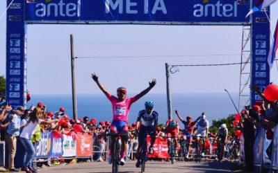 THE EIGHTH STAGE WAS URUGUAYA WITH FERNANDO MÉNDEZ