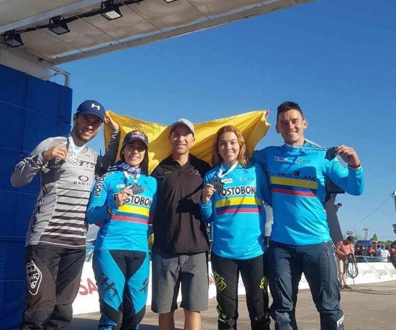 COLOMBIA SELECTION OF BMX READY TO FACE THE EUROPEAN TOUR OF WORLD CUPS
