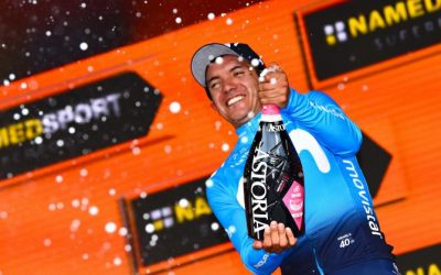 RICHARD CARAPAZ RISES AT MONTE BIANCO AND IS A NEW LEADER OF THE TOUR OF ITALY
