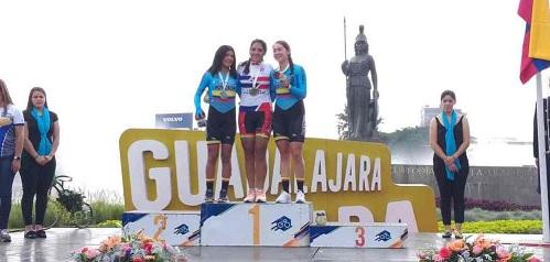 MEXICANA MARTÍNEZ ET COLOMBIANO HOYOS GAGNANT DU CYCLISME PANAMÉRICAIN