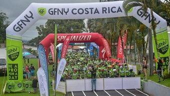DEUXIEME EDITION DU GREAT FUND LE COSTA RICA DE NEW YORK REÇOIT PLUS DE 400 CYCLISTES