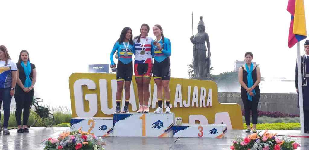 PAN AMERICAN ROUTE OF PATH: GÓMEZ AND HOYOS 1-2; SOLER AND VARGAS, PODIO DAMAS IN THE TIME TRIAL