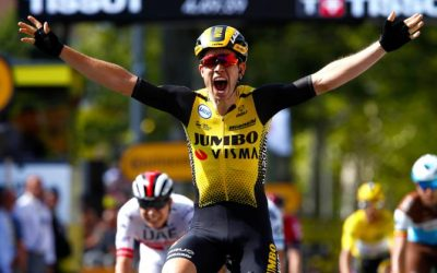WOUT VAN AERT WON THE TENTH STAGE OF THE TOUR OF FRANCE 2019