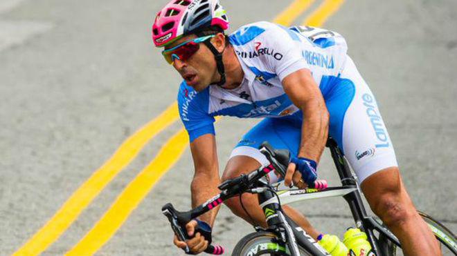 MAXIMILIANO RICHEZE, PAN AMERICAN CHAMPION IN ROAD CYCLING