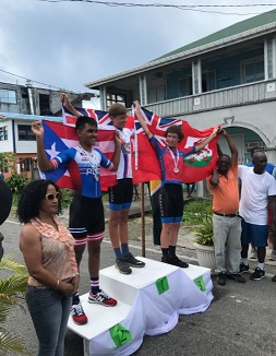 JUNIOR CARIBBEAN CYCLING CHAMPIONSHIPS RESULTS