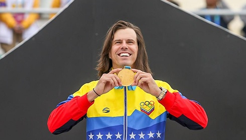 THE FREE STYLE BMX DEBUTA IN THE PAN AMERICANS WITH GOLD FOR VENEZUELA AND USA