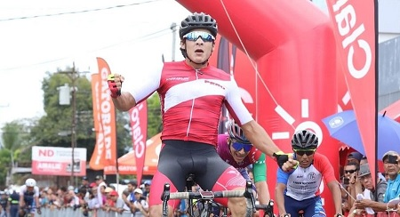 ALONSO GAMERO WAS TAUGHT AT THE EIGHTH STAGE OF THE TOUR TO CHIRIQUÍ 2019 IN PANAMA