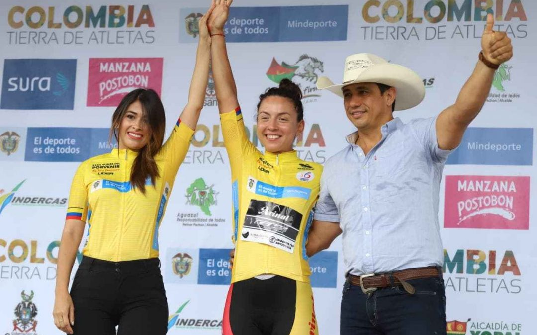 ARANTZA VILLALÓN WINS THE TIME TRIAL AND IS THE NEW LEADER OF THE FEMALE TOUR CASANARE BICENTENARIO