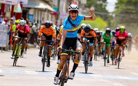 MILENA SALCEDO ENVELOPE IN ZARZAL AND IS THE FIRST LEADER OF THE TOUR TO FEMALE COLOMBIA 2019