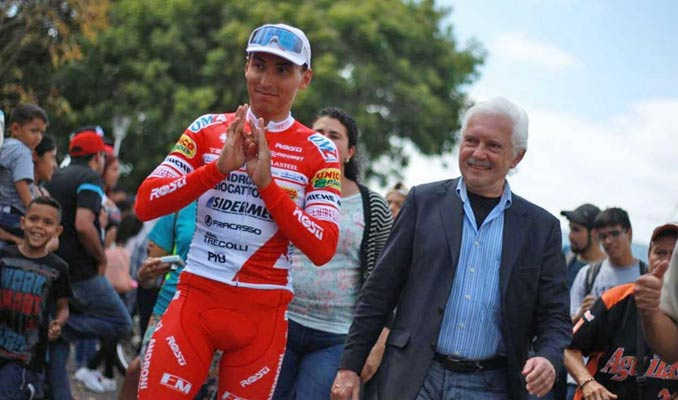 RESTREPO WINS AND SALINAS IS THE NEW LEADER OF THE VUELTA AL TACHIRA
