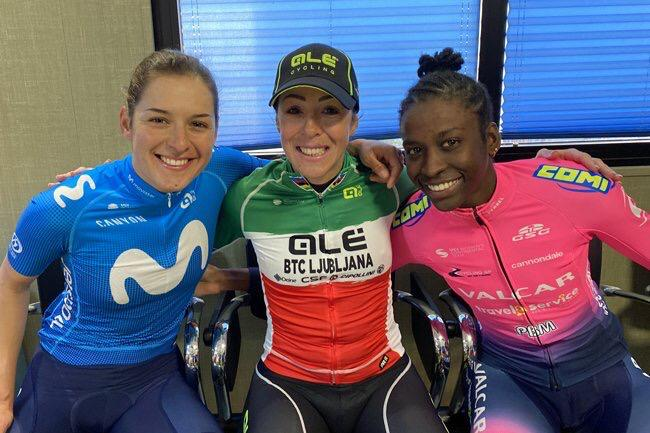 TENIEL CAMPBELL IS THIRD IN THE FEMALE TOUR COMMUNITY OF VALENCIA