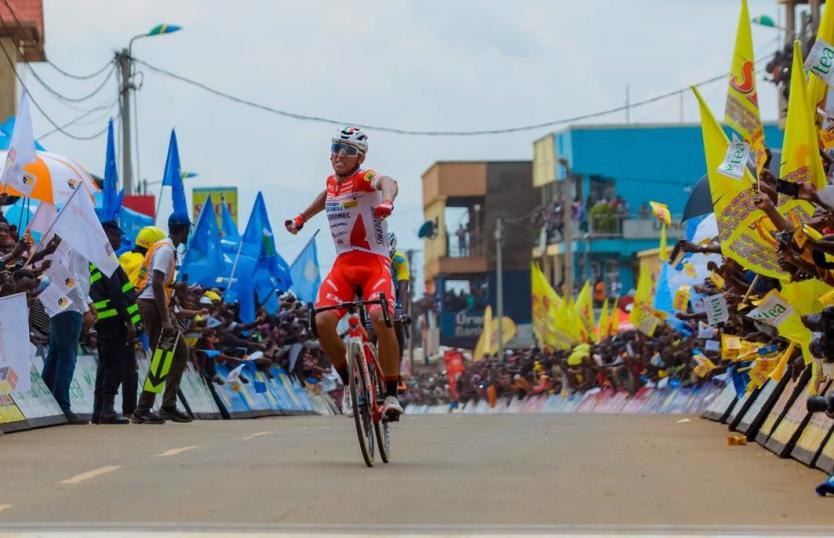 JHONATAN RESTREPO WINNER WITH THE SECOND STAGE OF THE RUANDA TOUR