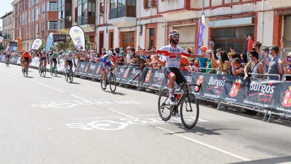 COLOMBIAN FERNANDO GAVIRIA WINS SECOND STAGE OF THE TOUR TO BURGOS