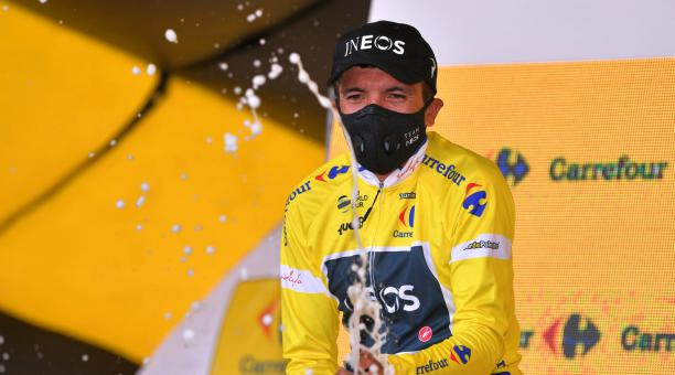 POLAND TOUR. RICHARD CARAPAZ WINS STAGE 3 AND IS A NEW LEADER