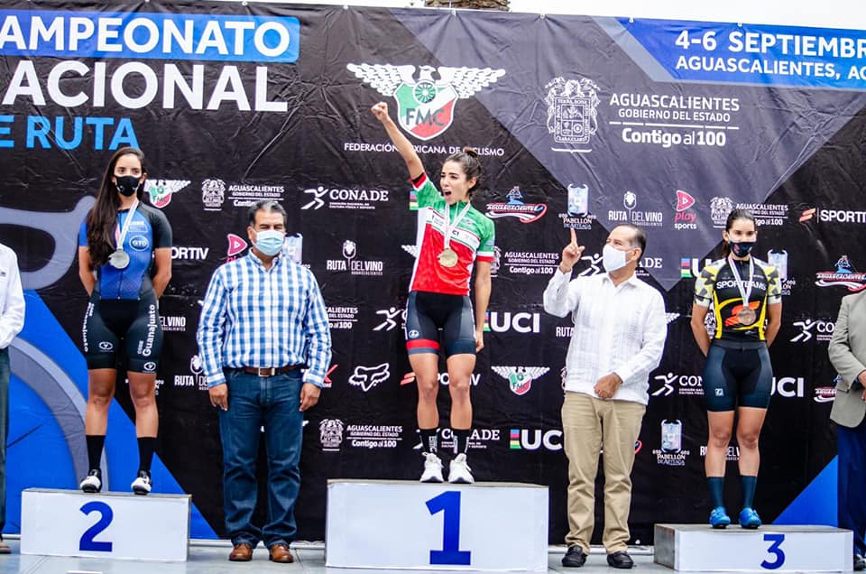 N.C ROAD MEXICO DAY 2º: ANTONIETA GAXIOLA WINS THE ELITE WOMEN ROAD