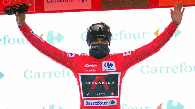 VUELTA TO SPAIN: AFTER THE 9TH STAGE CARAPAZ MAINTAINTS LEADING THE RED JERSEY