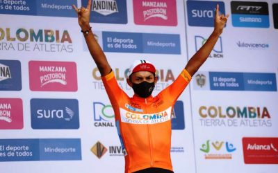 RAFAEL PINEDA WON THE CHRONO AND IS THE FIRST LEADER OF THE 2020 MINDEPORTES YOUTH TOUR