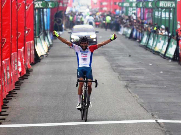 PANAMANIAN ROBERTO GONZÁLEZ WINS SECOND STAGE AND IS THE NEW LEADER OF THE VUELTA TO GUATEMALA