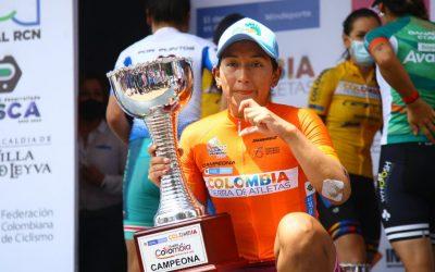 MIRYAM NUÑEZ, CHAMPION DU TOUR DES FEMMES DE COLOMBIE MINDEPORTES 2020