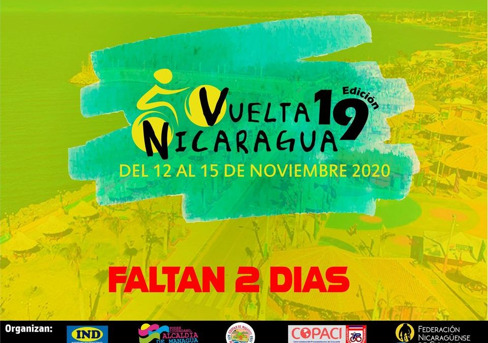 THE 19TH VUELTA TO NICARAGUA STARTS THE THURSDAY
