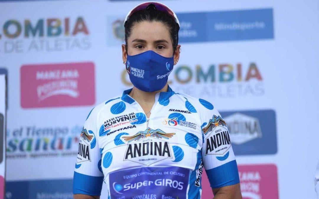 VENEZUELAN MARINES PRADA, FIRST LEADER OF THE FEMALE TOUR