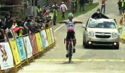VUELTA AL TACHIRA: PAREDES WINS SOLO AT THE FATHER´S HOUSE. CAMPOS MAINTAINS LEADERSHIP.