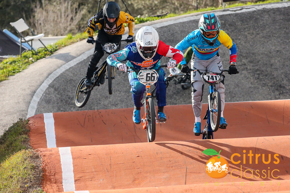 COLOMBIA SHINED IN THE CITRUS CLASSIC NATIONALS DE BMX