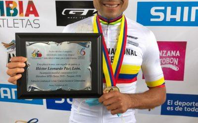 HÉCTOR LEONARDO PÁEZ REIGNED AND WAS AWARDED NATIONAL MTB / XMC TITLE