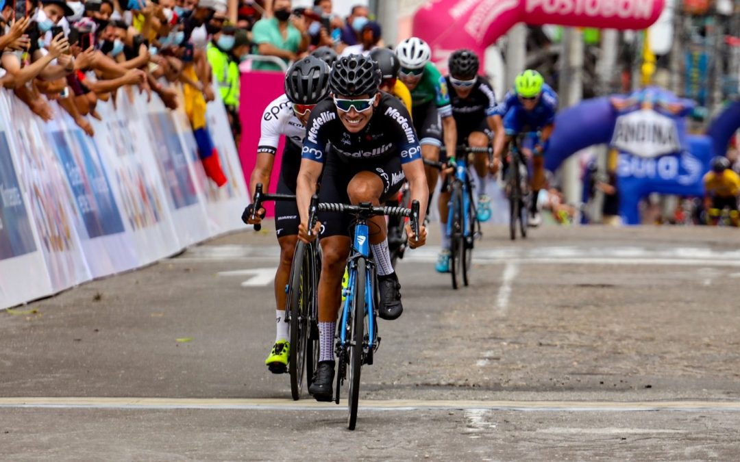 STAGE 3º VUELTA TO COLOMBIA: TEAM MEDELLIN DEMONSTRATES ITS POWER