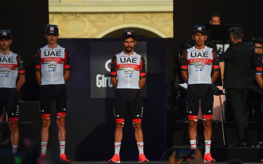 Six Colombians will start the Giro d'Italia