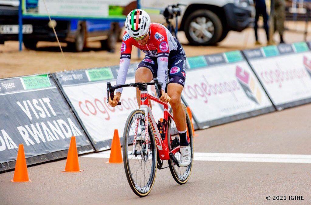 Restrepo repite triunfo de contrarreloj en Tour de Ruanda
