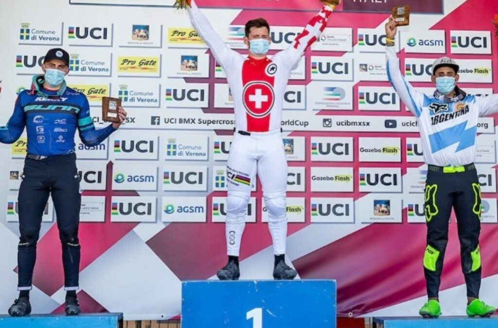 Nicolás Torres, among the best in the world in BMX