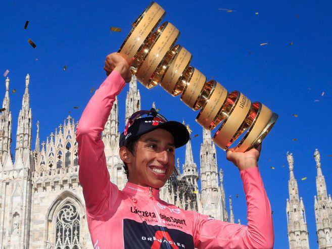 Egan Bernal, orgullo de América, ganador del Giro de Italia 2021