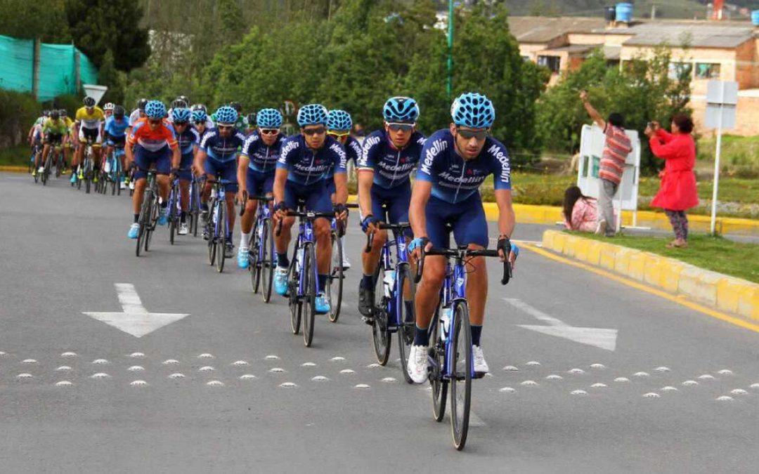 Team Medellin, tercero en la general por equipos.
