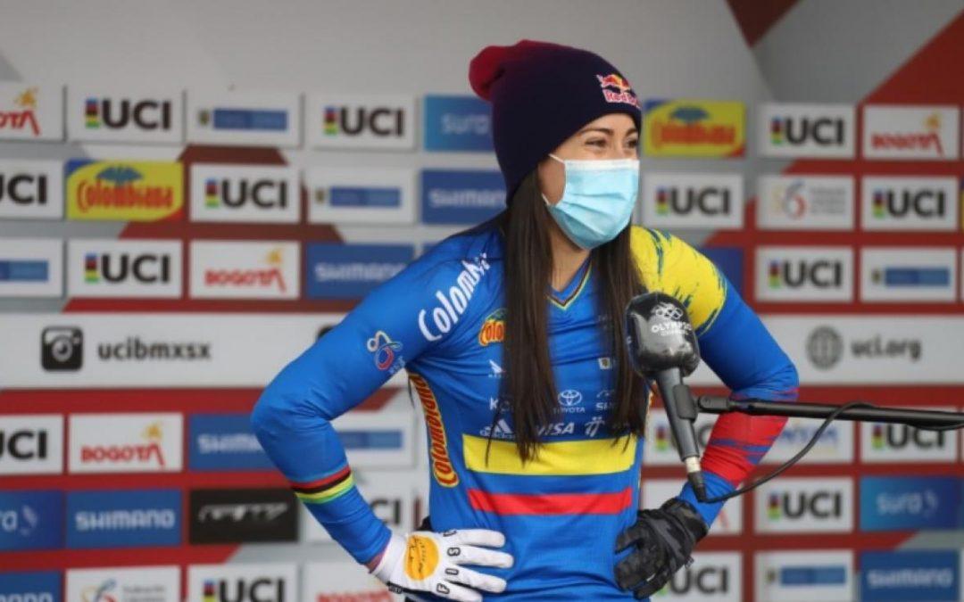 Mariana Pajón profeta en su tierra: ganó Copa Mundo BMX de Bogotá