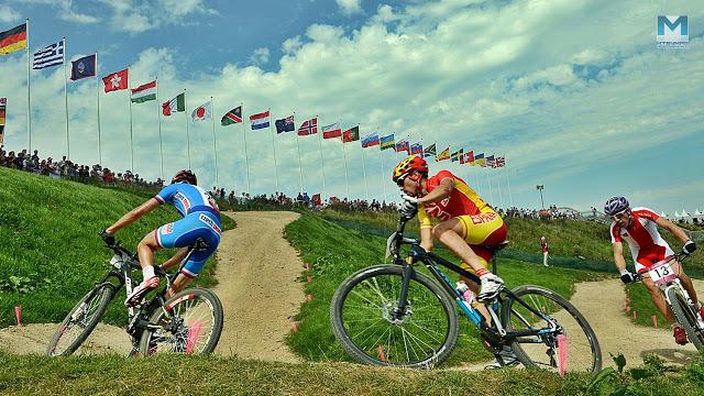 Seis países de América con cupos olímpicos en Mountain Bike