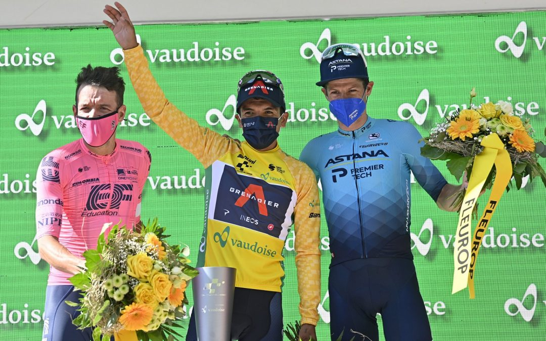 Historical: Richard Carapaz is the champion of the Tour of Switzerland