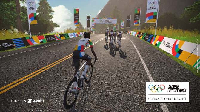Olympic Virtual Series: participatory and inclusive cycling