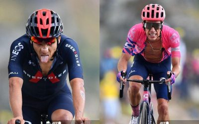 Tour de France 2021: Carapaz and Urán, two letters from America