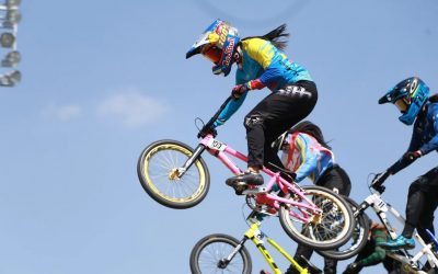 America with 11 Olympic BMX semi-finalists, including Mariana Pajón