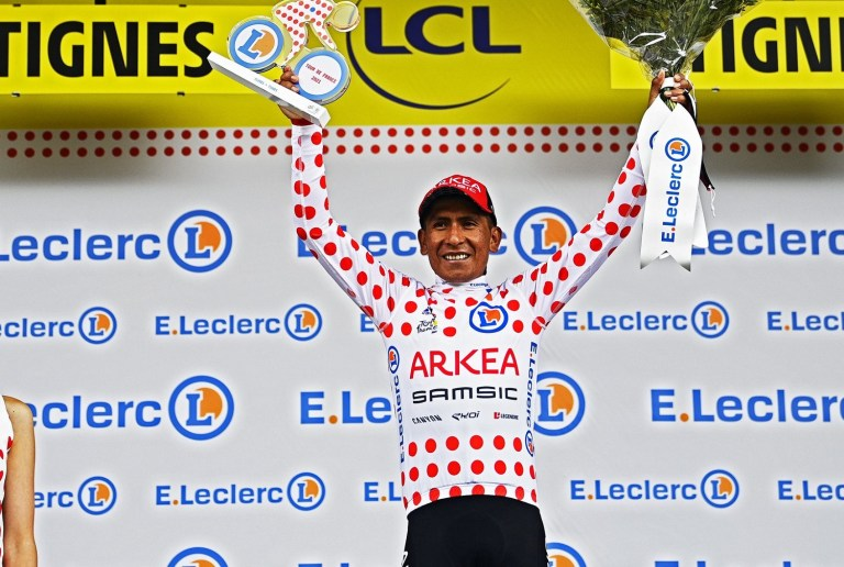 America attacks in the Tour: Nairo is leader of the mountain, Urán third in the general