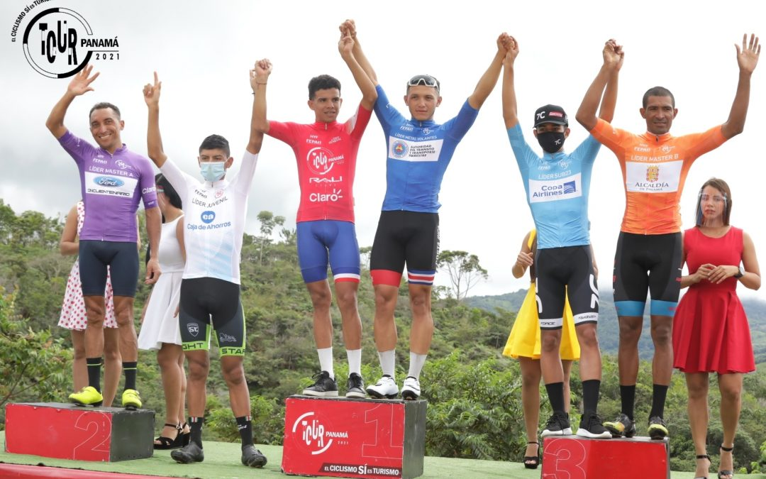 Archibold se afianza en liderato del Tour de Panamá