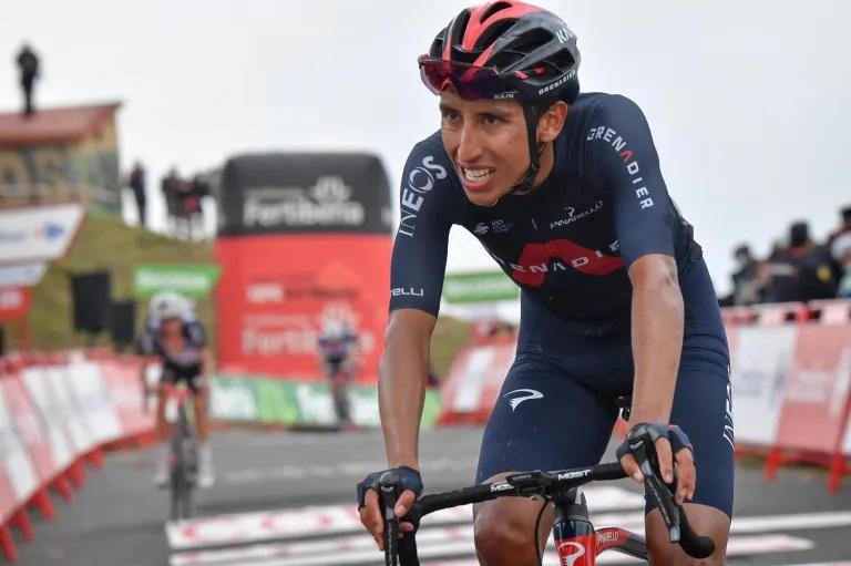 """Egan Bernal: """"Es difícil pensar en ganar, pero la Vuelta es muy dura y todo puede pasar"""""""