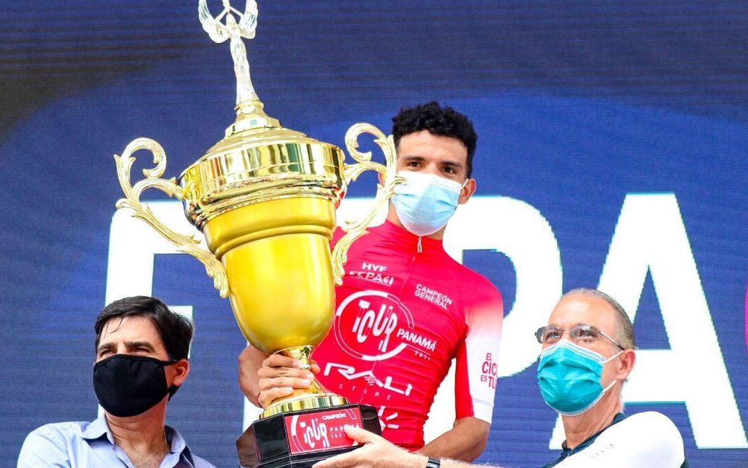 Franklin Archibold se corona campeón del Tour de Panamá 2021