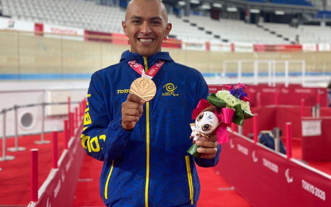 Diego Dueñas, bronce en la persecución de los Juegos Paralímpicos de Tokio